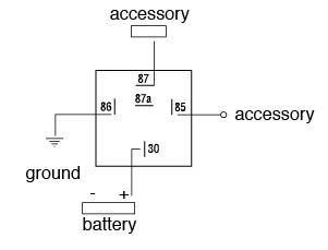 Automotive Relay Diagram