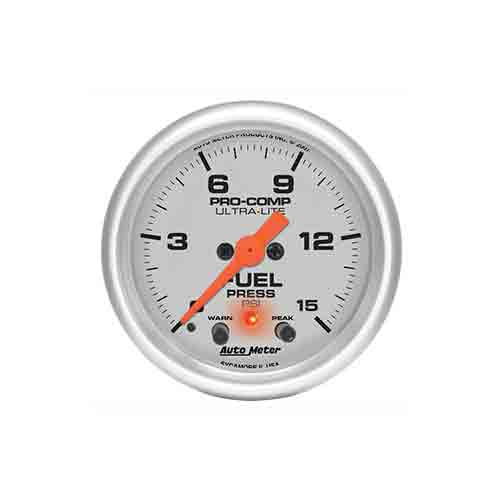 Auto Meter 4367 Ultra-Lite Electric Fuel Pressure Gauge