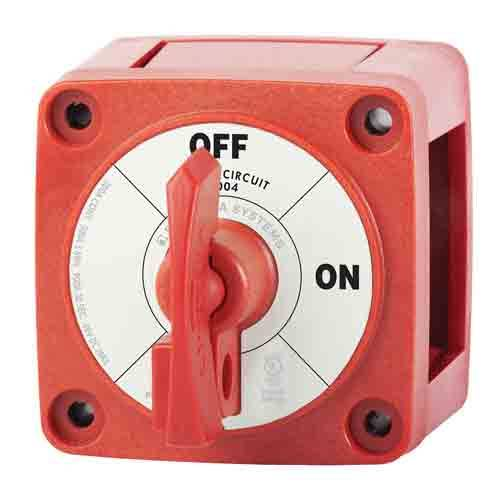 Blue Sea Systems 6011 M-Series Battery Switch On//Off Dual Circuit Plus