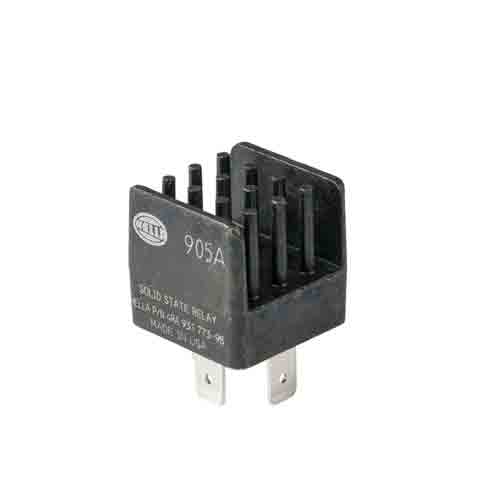 Hella Mini ISO Solid State Relay - 12V DC, 20 Amp